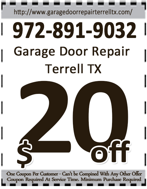Garage Door Repair Terrell TX Coupon